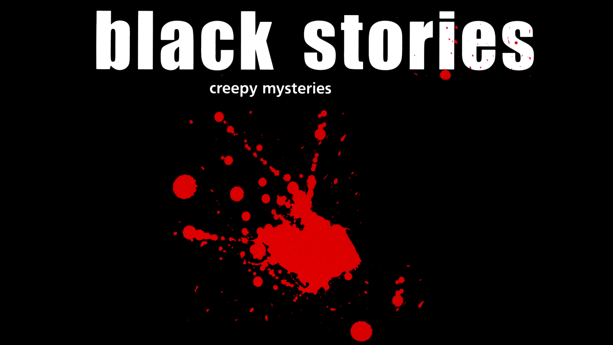 Black Stories title